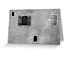 The small house Greeting Card