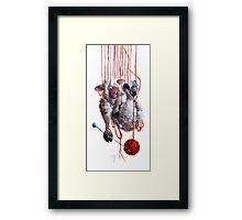 High Strung Framed Print