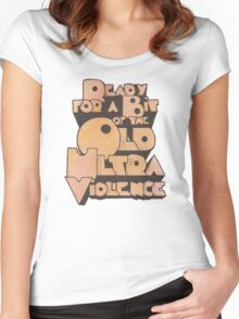 Ultra Violence Women's Fitted Scoop T-Shirt