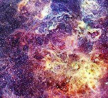 Nebula Stars Pattern  by Scarabs-witness