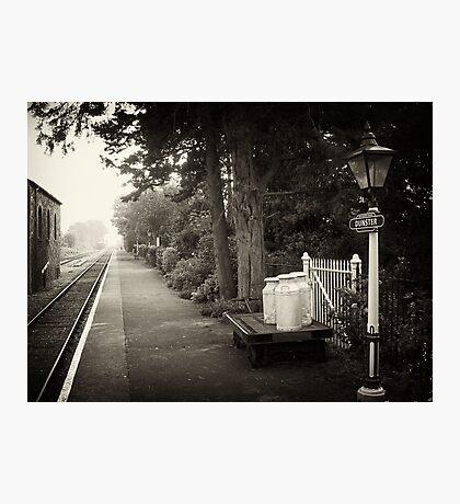 West Somerset Railway Photographic Print