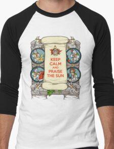 Keep Calm and Praise the Sun Men's Baseball ¾ T-Shirt