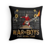 The Coma-Doof Warrior Rides Again! Throw Pillow