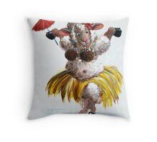 Tiki Baaa Throw Pillow