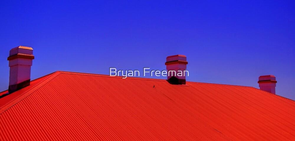 Three Chimneys - Palm Beach - Sydney - Australia by Bryan Freeman