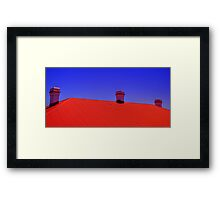 Three Chimneys - Palm Beach - Sydney - Australia Framed Print