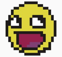 Awesome MEME face  - 8bit by coolvintage