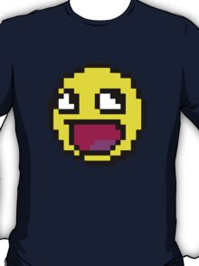 Awesome MEME face  - 8bit T-Shirt