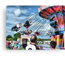 Fun at Hawkesbury Upton Fair.  Canvas Print