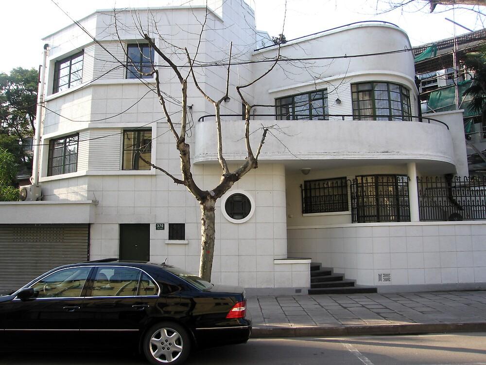 Modernist Villa - Wukang Rd - Shanghai, China by John Meckley