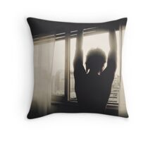 Man of Suburbia Throw Pillow