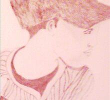 Baseball Player by queenofhearts