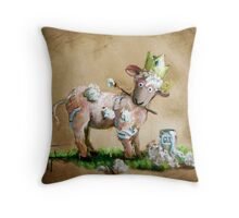 Reclaiming Dignity Throw Pillow