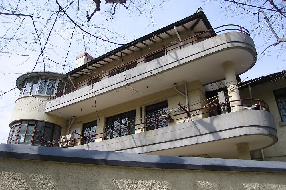 Modernist Villa - Kangping Rd - Shanghai, China by John Meckley