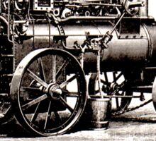 Richard Garett Compound Portable Engine Sticker