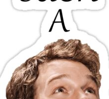 Don't Be Such A Pratt- Chris Pratt Sticker
