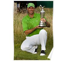 British Open Champion 2009 Poster