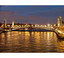 Paris Lights  Photographic Print
