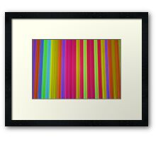 What Is It? - Glow Sticks Framed Print