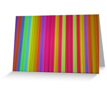 What Is It? - Glow Sticks Greeting Card