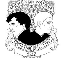 Consulting Detectives by Cumberhugger