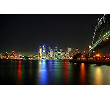 Sydney At Night - HDR Photographic Print