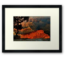 Grand Canyon At Dawn Framed Print