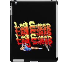 Street Fighter 2:  Leg Sweep Edition iPad Case/Skin