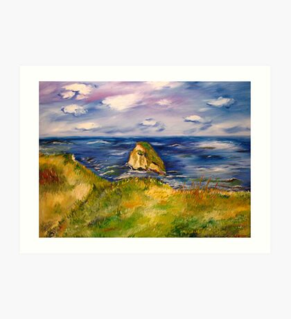Canon Beach Art Print