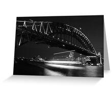 Ghost Ship - Sydney - Australia Greeting Card