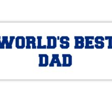 WORLD'S BEST DAD: Father's Day Special Sticker