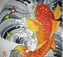 Lucky Koi Fish by CrystalWegner