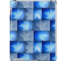 Blue Leaf Drawing iPad Case/Skin