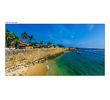 Galle Fort, Sri Lanka Photographic Print