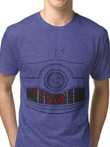 C-3P0 Tri-blend T-Shirt