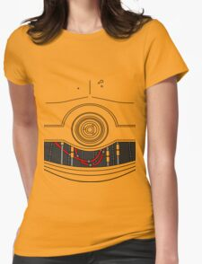 C-3P0 Womens Fitted T-Shirt