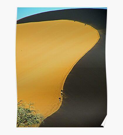 No 45 Sand Dune Poster
