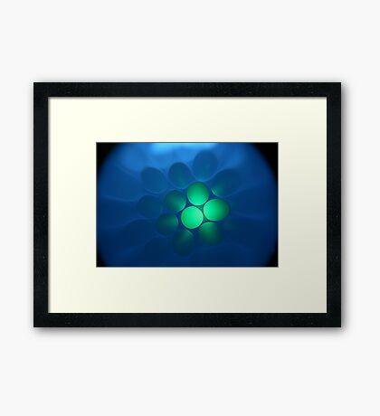 Alien Eggs Framed Print