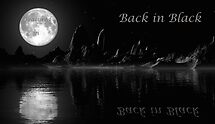 Back in Black - Challenge Entry by AlienVisitor