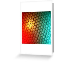 It's That Red & Green Again (with some yellow) Greeting Card