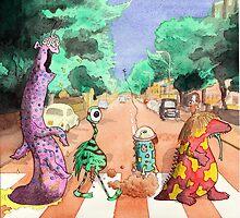 Alien Road by Stilly