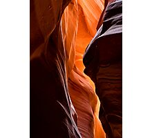 upper antelope canyon Photographic Print