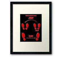 Let's do the time warp... again. Framed Print