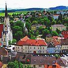 Fairy-tale town by Elena Skvortsova