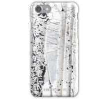 White Tree 2 iPhone Case/Skin