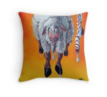 Drip Dry Throw Pillow