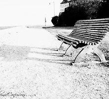 Lonely Bench II by Ashfaq