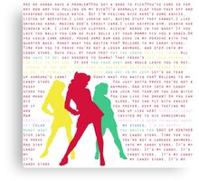 Candy Store-Heathers: The Musical Canvas Print