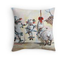 Silence of the Lambs Throw Pillow