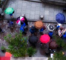 Umbrellas, Paris Sticker